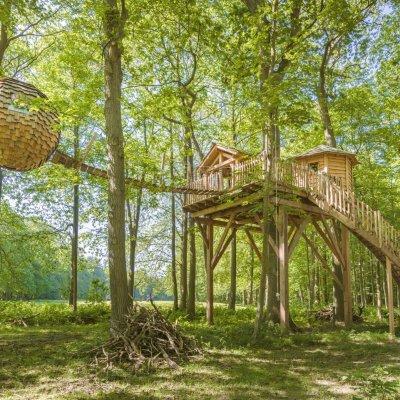 top 30 des cabanes dans les arbres pour une nuit insolite. Black Bedroom Furniture Sets. Home Design Ideas